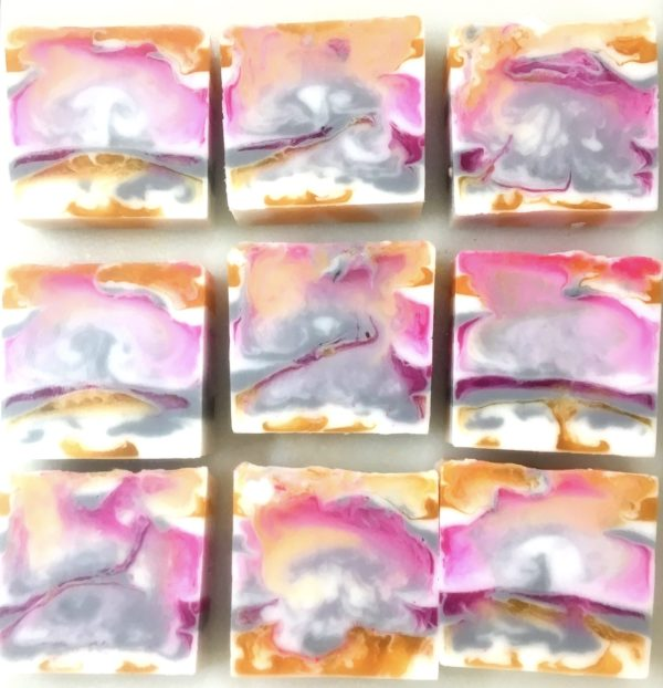 Sweet Pea Scented Soap Bar