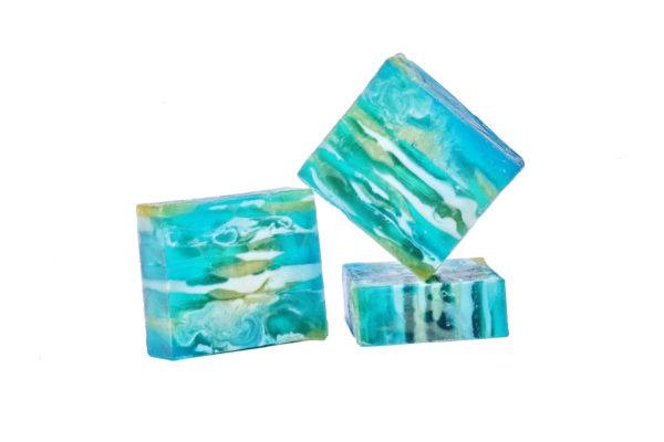 Turquoise Scented Soap Bar