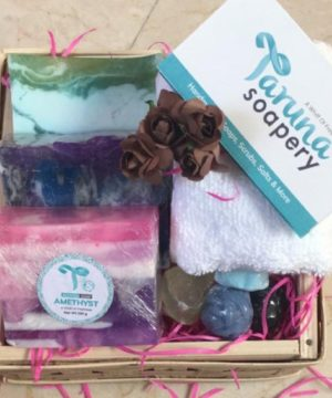 The 3 Mystique Pattern & Towel Combo, Happiness Gift Hamper