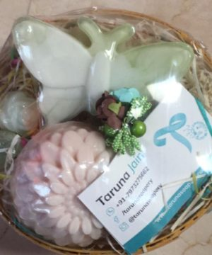 The 1 Majestic Flower 1 Magical Butterfly, Happiness Gift Hamper